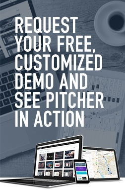 Request Your Free, Customized Demo and See Pitcher in Action