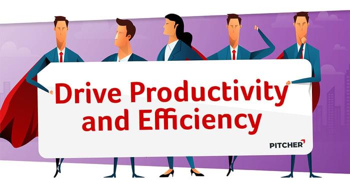 Drive productivity Hero