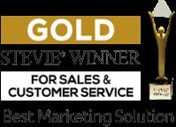 Stevie Winner for Sales & Customer Service
