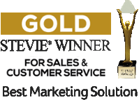 Stevie Winner for Sales & Customer Service