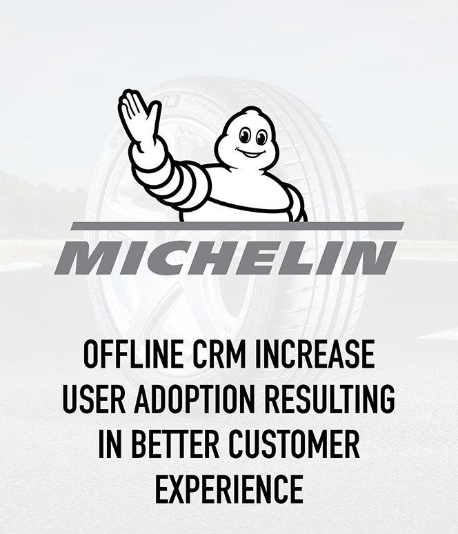 Offline CRM increase User Adoption resulting in better Customer Experience