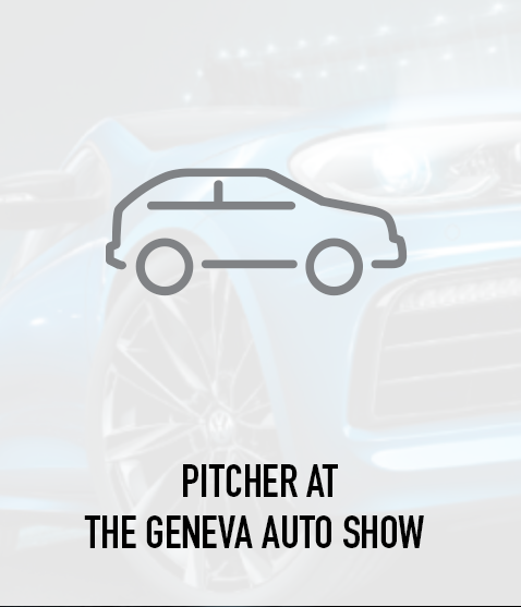 Pitcher at the Geneva Auto Show
